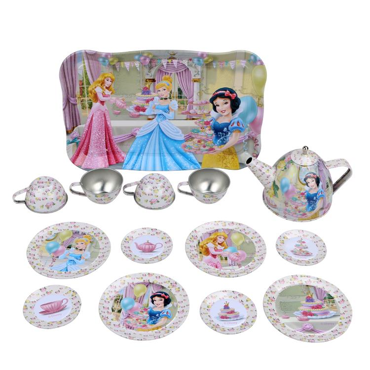 Disney Игрушечный набор посуды Чайная вечеринка набор посуды катюша 8 предметов