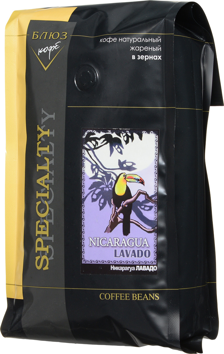 Блюз Никарагуа Лавадо кофе в зернах, 1 кг8056370761333Блюз Никарагуа Лавадо - центральноамериканский сорт кофе вида арабика. Кофейные деревья выращивались здесь с давних времен, и поэтому кофе приобрёл самобытный вкус и аромат. Напиток имеет терпкий и сбалансированный аромат, насыщенный настой, а также уникальных вкус.