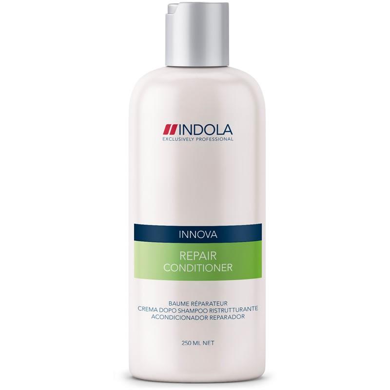 Indola Восстанавливающий кондиционер Repair Conditioner 250 мл1509111Indola Восстанавливающий кондиционер. Обеспечивает интенсивное восстановление волос. Обогащен гидролизованным кератином, катионовым полимером и провитамином В5, которые восстанавливает кутикулу, волокна и тело волос. Усиливает структуру волос, поддерживает баланс влаги, делает волосы послушными и эластичными. Для поврежденных волос. Рекомендуется использовать в комплексе с шампунем Indola Repair.