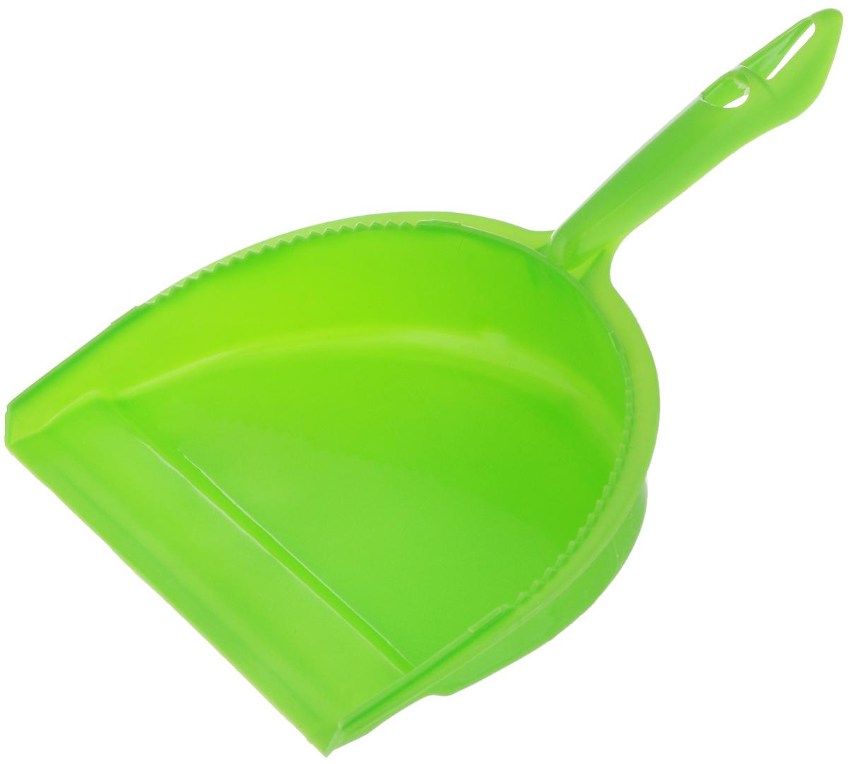 Совок для мусора Фэйт Джокер, цвет: зеленый1.4.02.1862Совок Фэйт Джокер предназначен для сбора мусора и пыли при уборке помещений. Он выполнен из прочного пластика и имеет удобную эргономическую ручку.Длина совка: 28,5 см.Ширина совка: 21 см.
