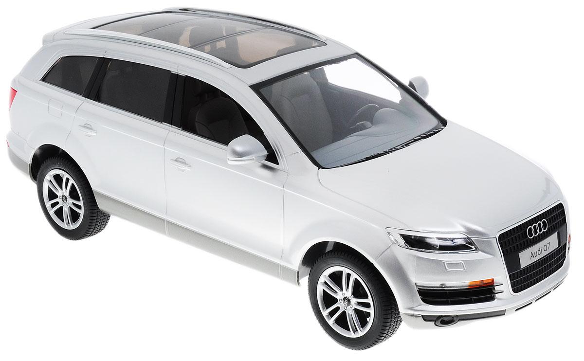 Все мальчишки, увлеченные автомобилями, больше всего мечтают, чтобы им дарили либо гоночные суперкары и болиды, либо внушительные внедорожники. Такие, как этот Audi Q7 от Rastar. Модель полностью повторяет знаменитый немецкий внедорожник, имеет официальную лицензию Audi и сертификат соответствия Ростеста. Впечатляющая дальность действия пульта обеспечивает возможность гонять машинку на дальние расстояния в просторных помещениях и на улице.