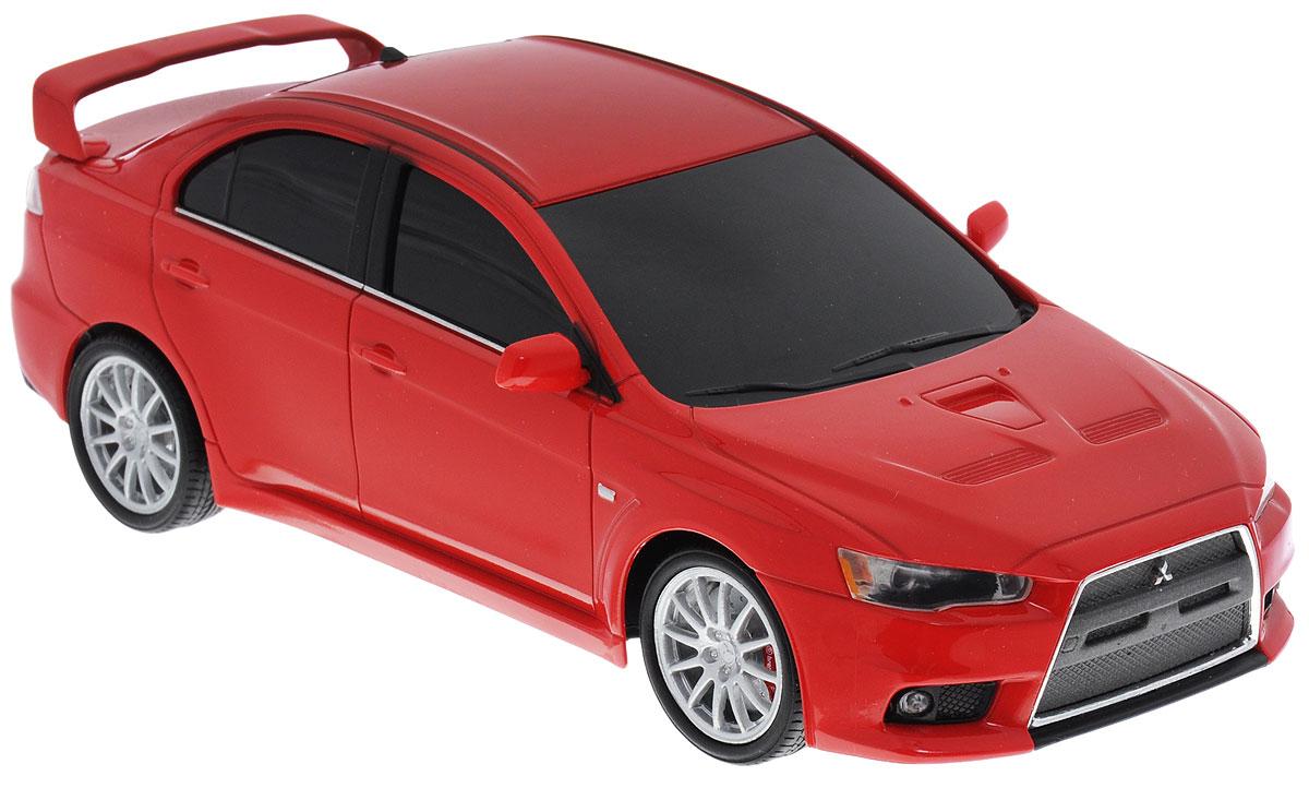 Welly Радиоуправляемая модель Mitsubishi Lancer Evolution X цвет красный