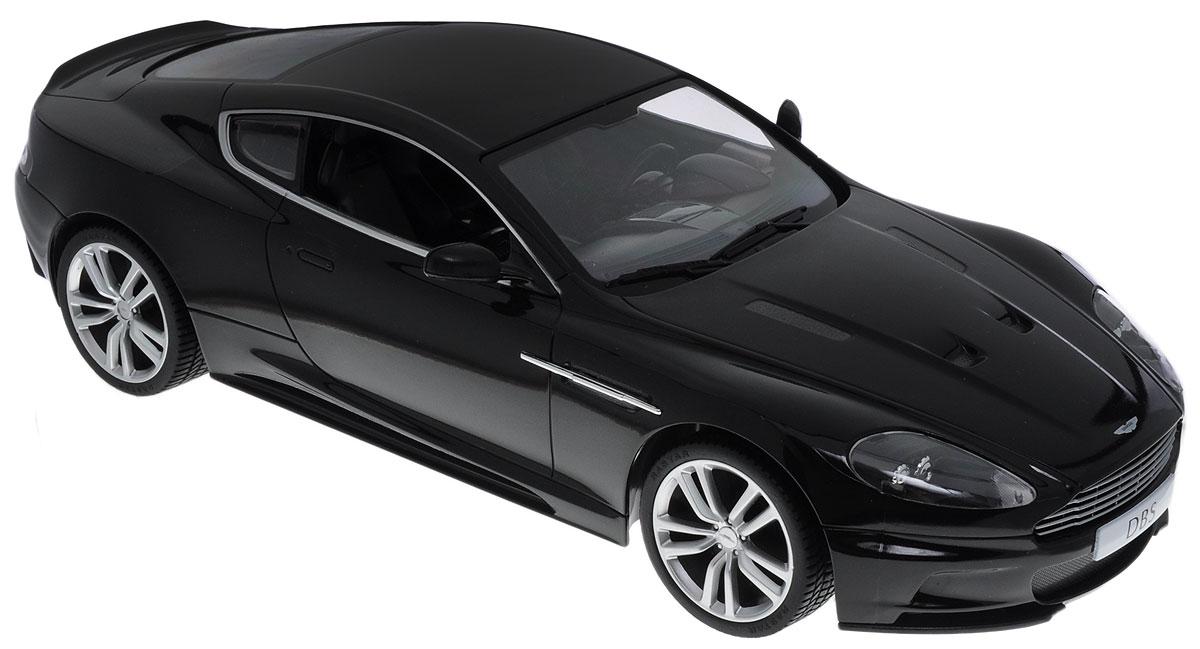 """Радиоуправляемая модель Rastar """"Aston Martin DBS Coupe"""" станет отличным подарком не только ребенку, но и взрослому! Все дети хотят иметь в наборе своих игрушек ослепительные, невероятные и крутые автомобили на радиоуправлении. Тем более, если это автомобиль известной марки с проработкой всех деталей, удивляющий приятным качеством и видом. Одной из таких моделей является автомобиль на радиоуправлении Rastar """"Aston Martin DBS Coupe"""". Это точная копия настоящего авто в масштабе 1:14. Автомобиль детально проработан, выполнен из безопасных и качественных материалов. Возможные движения: вперед-назад, вправо-влево, остановка. Имеются световые эффекты. Пульт управления работает на частоте 27 MHz. Для работы автомобиля необходимо купить 5 батареек типа АА (не входят в комплект). Для работы пульта управления необходима батарейка типа """"Крона"""" (не входит в комплект)."""