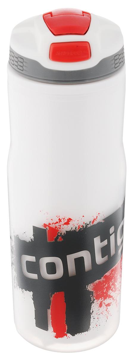 Бутылка для воды Contigo Devon Insulated, цвет: белый, красный, серый, 650 млVT-1520(SR)Бутылка для воды Contigo Devon Insulated изготовлена из высококачественного пластика, безопасного для здоровья. Закручивающаяся крышка с герметичным клапаном для питья обеспечивает защиту от проливания. Оптимальный объем бутылки позволяет взять небольшую порцию напитка. Она легко помещается в сумке или рюкзаке и всегда будет под рукой. Такая идеальная бутылка небольшого размера, но отличной вместимости наполняет оптимизмом, даря заряд позитива и хорошего настроения. Бутылка для воды Contigo Devon Insulated - отличное решение для прогулки, пикника, автомобильной поездки, занятий спортом и фитнесом. Высота бутылки (с учетом крышки): 22 см.Диаметр дна: 6,5 см.