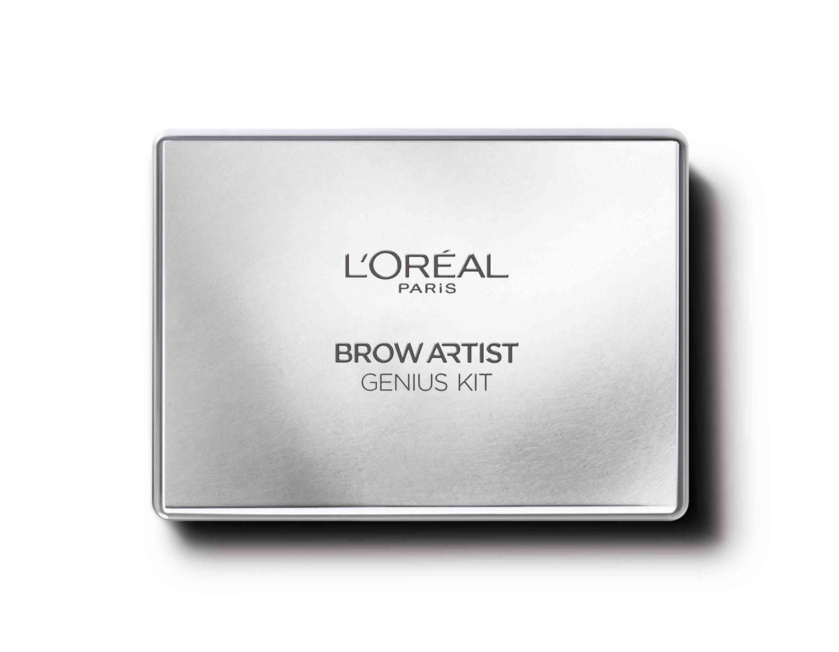 LOreal Paris Профессиональный набор для дизайна бровей Brow Artist, оттенок 02 темно-коричневый, 52 г28032022Все для профессионального макияжа бровей в одном продукте – пигментированный воск, тени натурального оттенка, щипчики и двусторонняя кисть с щеточкой. Теперь так легко создать идеальные брови! Создайте свои.