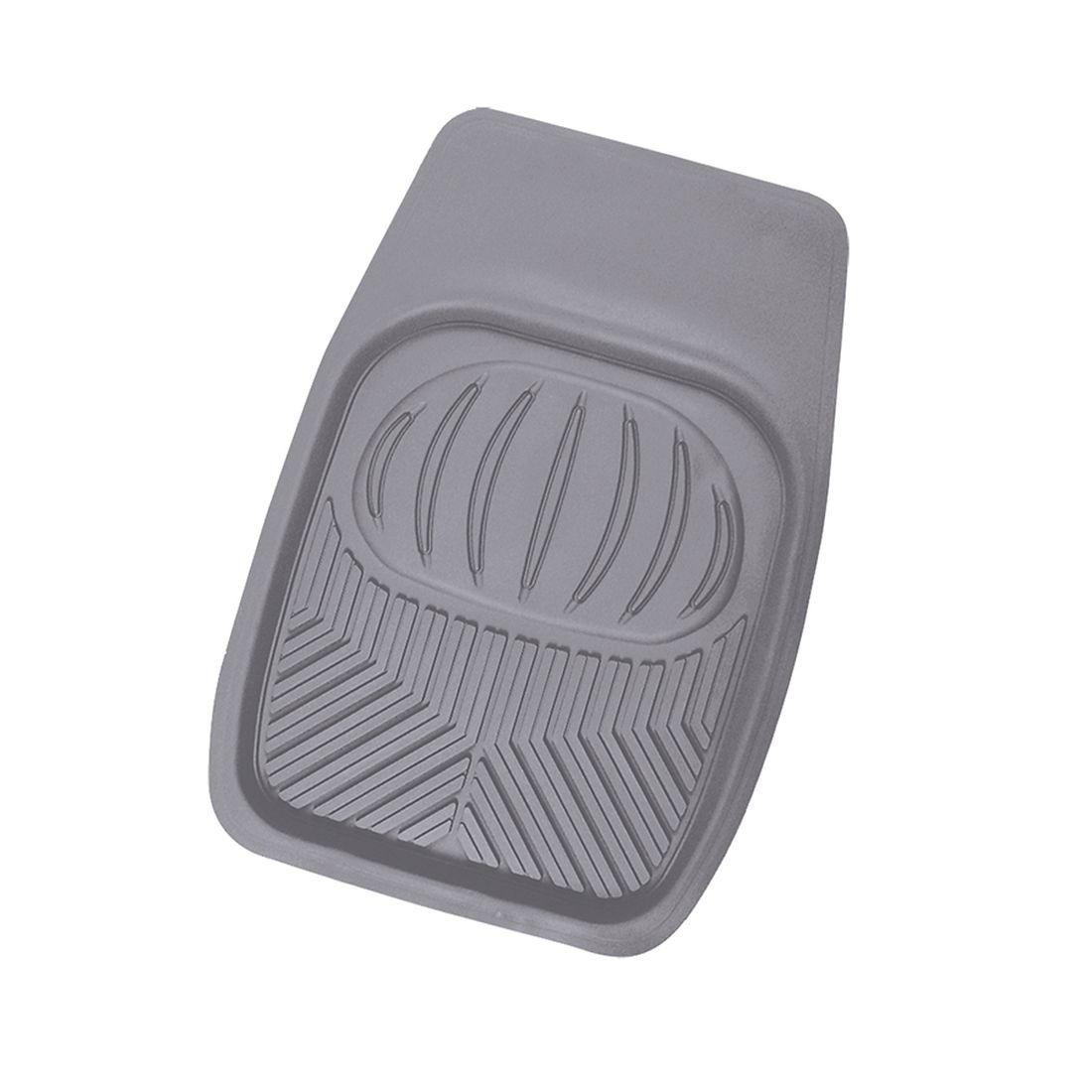 Коврик в салон автомобиля Autoprofi, для переднего ряда, универсальный, ванночка, цвет: серыйRUS-105f GYПрочный и долговечный коврик предназначен для переднего ряда. Выдерживает морозы до -20 С.
