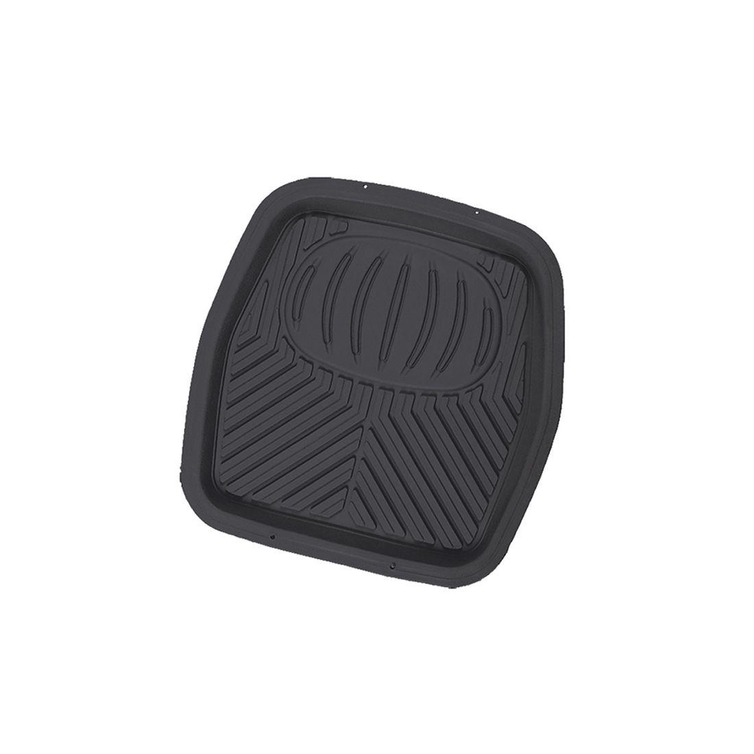 Коврик в салон автомобиля Autoprofi, для заднего ряда, универсальный, ванночка, цвет: черныйRUS-105r BKПрочный и долговечный коврик предназначен для заднего ряда. Выдерживает морозы до -20 С.