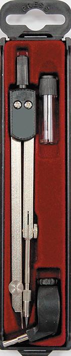 Perfecta Готовальня Studio 3 предмета SG.3PR/U*FS-36052Готовальня Perfecta Studio с малым циркулем предназначена для учащихся старших и средних классов. В набор входят: металлический циркуль с коленным соединением, пластиковым держателем и подстраиваемой иглой, держатель для карандаша и запасной грифель в контейнере. Инструменты упакованы в пластиковый футляр с прозрачной крышкой.Благодаря высокому качеству материалов и сборки, надежные чертежные инструменты Perfecta прослужат вам много лет.