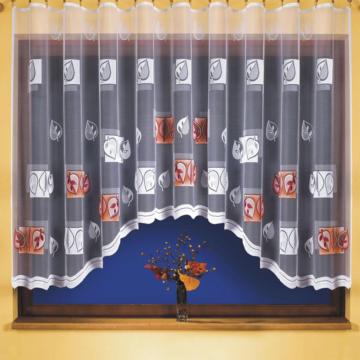 Гардина Wisan, цвет: белый, ширина 300 см, высота 150 см. 9387GC013/00вид крепления - под зажимы для шторРазмеры: ширина 300*высота 150