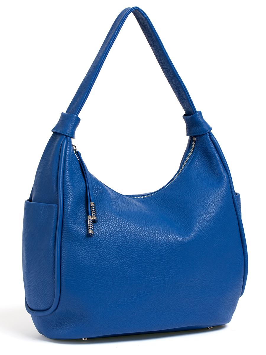 Сумка женская Palio, цвет: синий. 14512A123008Женская сумка Palio изготовлена из натуральной кожи с фактурным тиснением. Сумка закрывается на застежку-молнию.Сумка имеет одно основное отделение, в котором есть два открытых кармана для телефона и мелких принадлежностейи вшитый карман на застежке-молнии.Снаружи, с тыльной стороны сумки расположен вшитый карман на застежке-молнии. По бокам сумки также расположены открытые карманы.Изделие оснащено удобной ручкой для переноски. Основание сумки дополнено четырьмя металлическими ножками, защищающими изделие от механических повреждений.Элегантная и вместительная сумка Palio прекрасно дополнит ваш образ и подчеркнет неповторимый стиль.