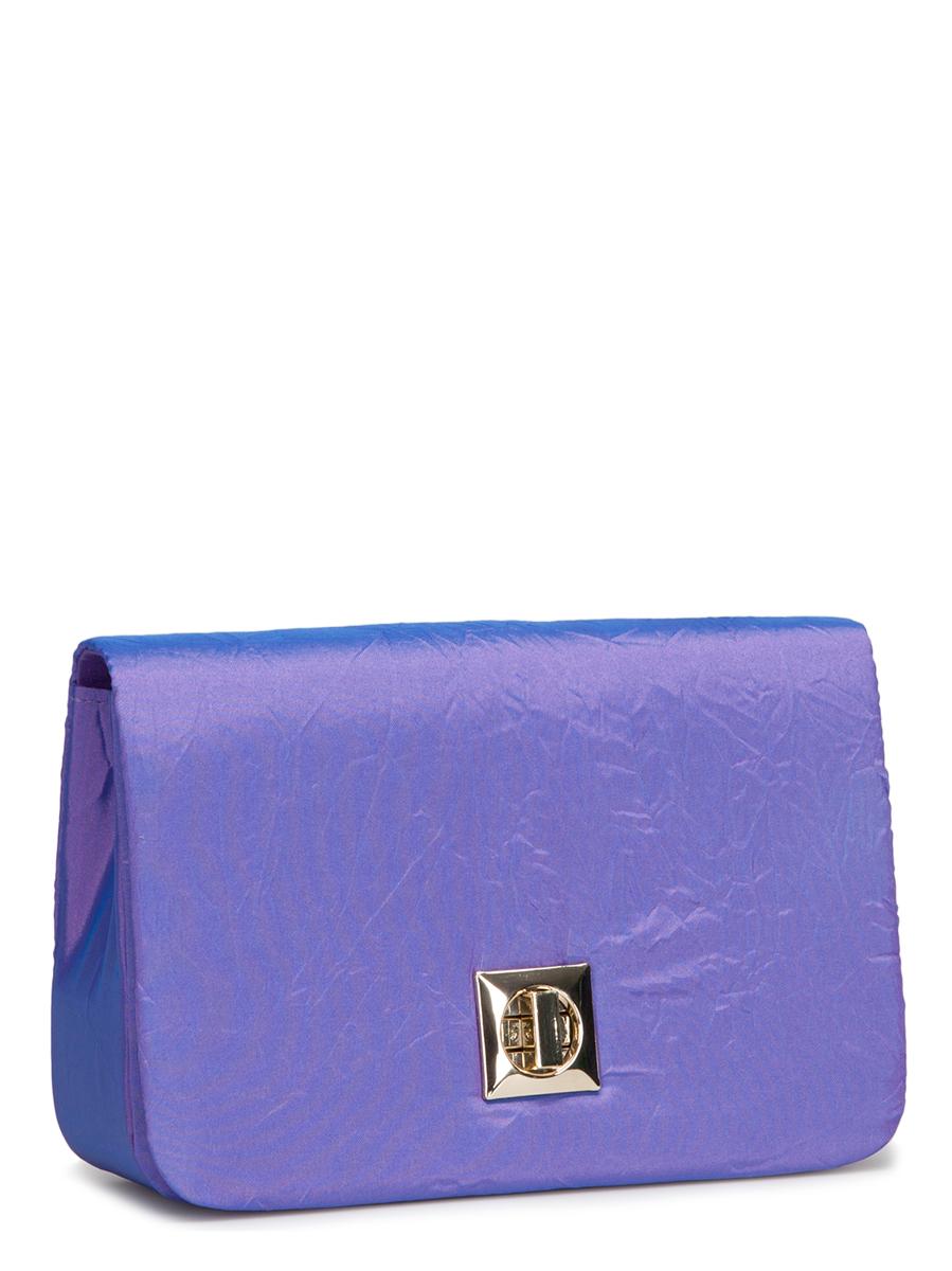 Клатч Eleganzza, цвет: фиолетовый. ZZ-54363-47660-00504Клатч Eleganzza изготовлен из высококачественного текстиля и закрывается на клапан с застежкой-вертушкой. Сумка имеет одно основное отделение, в котором есть один открытый накладной карман.Изделие дополнено изящной длинной цепочкой для удобства переноски.Клатч Eleganzza покорит сердце всех любительниц красивых и ярких аксессуаров для выхода в свет! Он прекрасно дополнит ваш образ и подчеркнет неповторимый стиль!