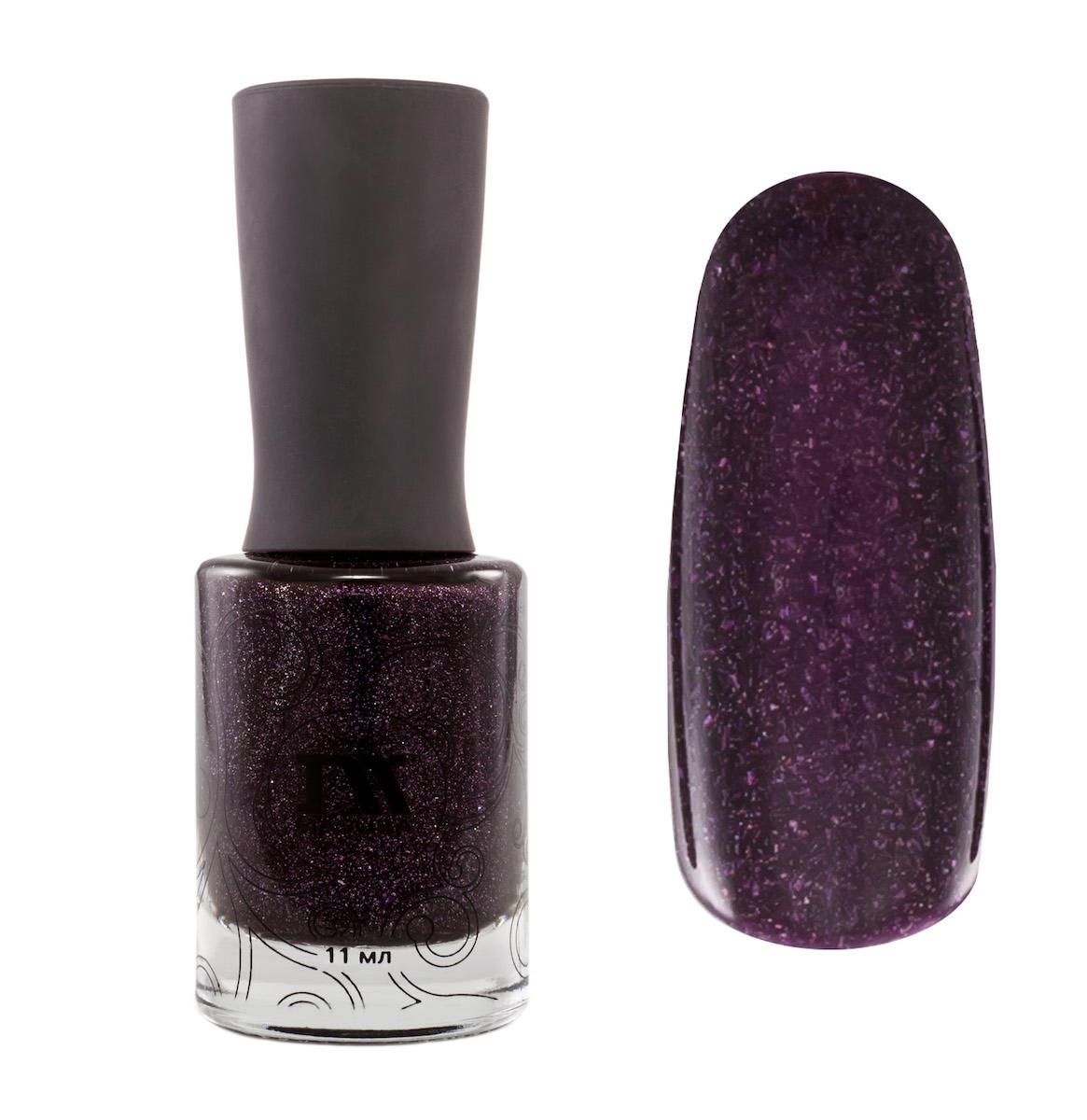 Masura Лак для ногтей Праздник Жизни,11 мл1033дымчато-фиолетовый голографический, с серебристым и голографическим холодным сиянием, шиммерный