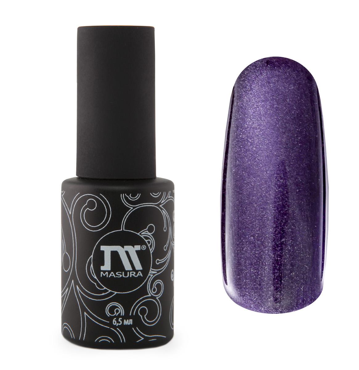 Masura Гель-лак Аметисты Ришелье, 6,5 мл31438темно-фиолетовый, с зеркальным переливом, плотный