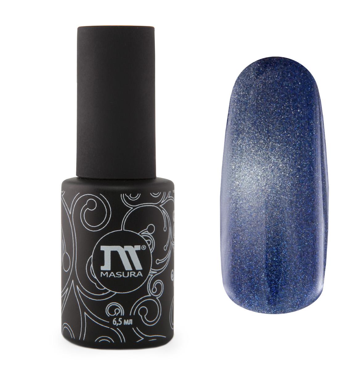 Masura Гель-лак Британский Сапфир, 6,5 мл294-79дымчато-синий, с зеркальным переливом, плотный