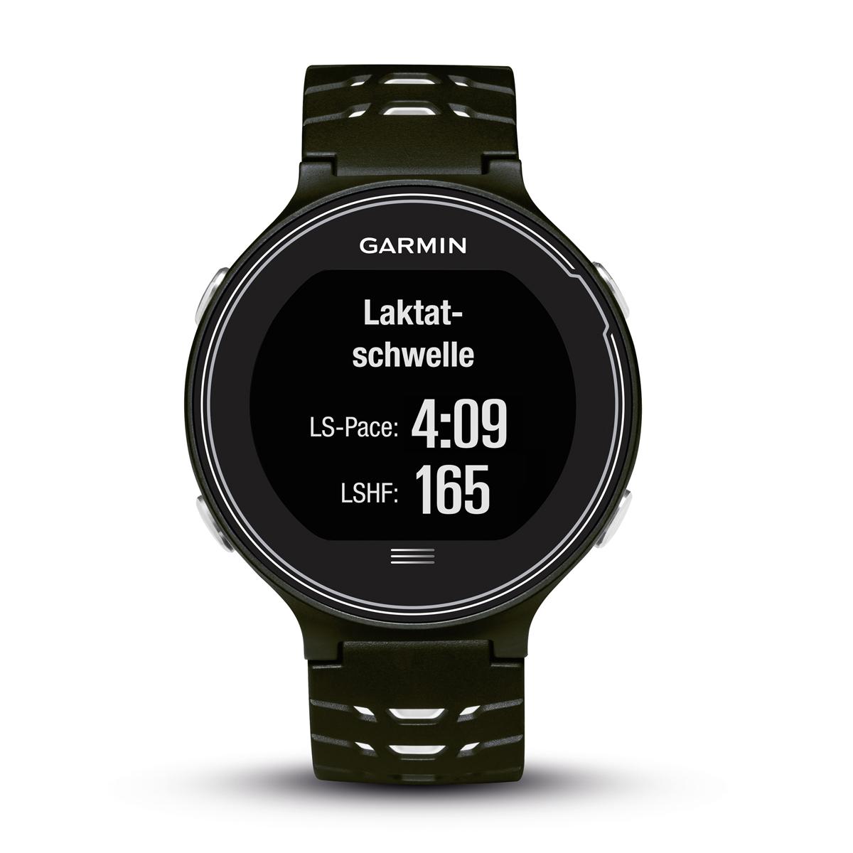 Спортивные часы Garmin Forerunner 630, цвет: черный. 010-03717-20ALC-MB10-3CALRU1-1Смарт-часыGPSс расширенными беговыми даннымиМониторинг: Физической активности;Калорий;СнаДатчики: GPS- трекер;Счетчик калорийОсобенности: Влагозащищенный;Оповещения со смартфона;Часы;Водонепроницаемый;Умный тренер (Smart Coach )Совместимое ОС: GARMINМатериал корпуса: ПластикМатериал ремешка/браслета: ПластикДлина ремешка: 16 см Время работы: 4 неделиИнтерфейс: BluetoothМетод зарядки: microUSB 2.0Вид аккумулятора: Li-ionЕмкость аккумулятора: 300 mA