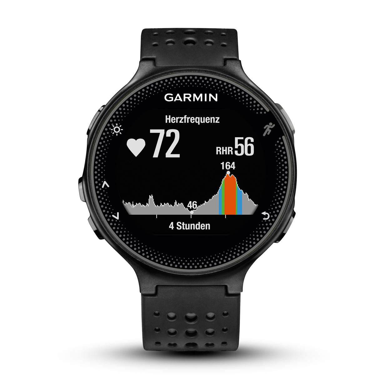 Спортивные часы Garmin  Forerunner 235 , цвет: светло-серый. 010-03717-55 - Умные часы