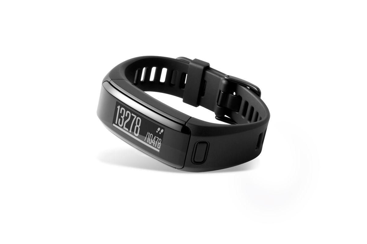 """Фитнес-браслет Garmin """"Vivosmart HR"""", цвет: черный. 010-01955-12"""