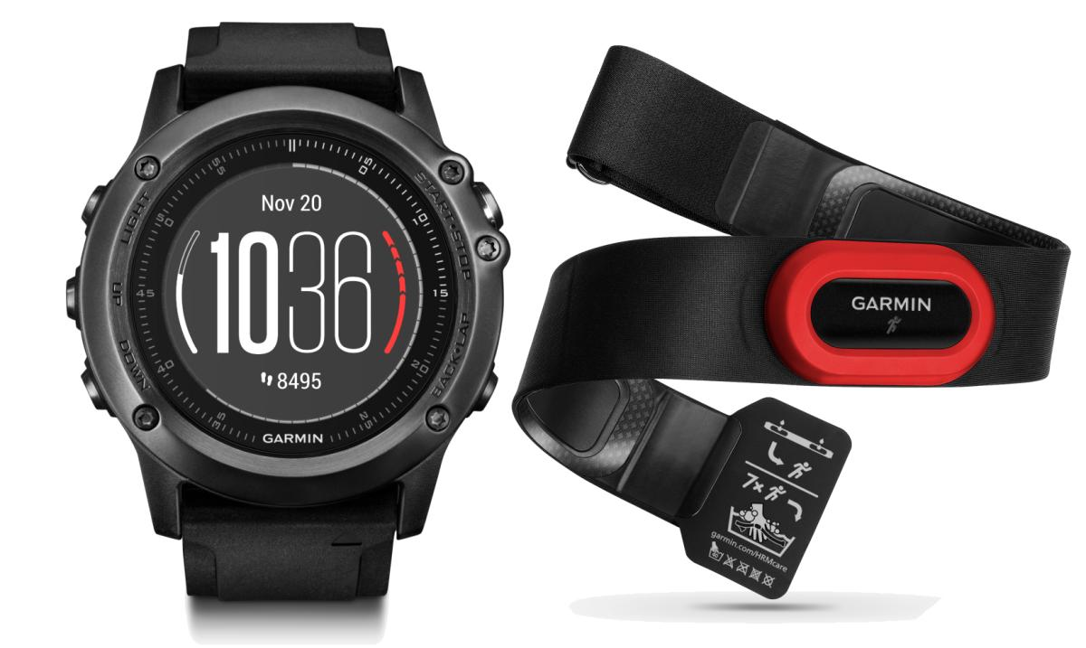 Спортивные часы Garmin Fenix 3 Sapphire HR+HRM -Run, цвет: черный, серый. 010-01338-74SCH01-PurpleОптический пульсометрElevateна запястье + нагрудный пульсометр HRM-RunМониторинг: Физической активностиДатчики: GPS- трекер;Барометр;Гироскоп;Компас;Пульсометр;Сердечного ритмаОсобенности: Влагозащищенный;Оповещения со смартфона;Часы;Водонепроницаемый;ПротивоударныйСовместимое ОС: GARMINМатериал корпуса: Нержавеющий медицинский металлМатериал ремешка/браслета: СиликонДлина ремешка: 16 см Время работы: 6 недельИнтерфейс: BluetoothМетод зарядки: microUSB 2.0Вид аккумулятора: Li-ionЕмкость аккумулятора: 300 mA