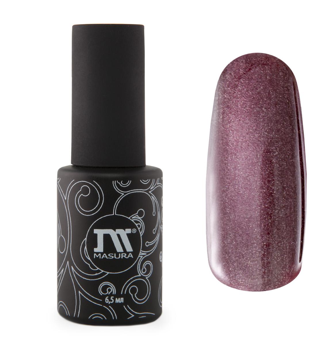 Masura Гель-лак ганаты Миледи, 6,5 мл28032022пурпурно-малиновый, с зеркальным переливом, плотный