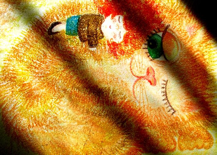 Большая авторская открытка Засыпай…, размер: 15 х 21 см. Автор Ирина БастSvS10-015Размер большой открытки: 15 х 21 см. Открытка напечатана на фактурной льняной бумаге. Она теплая и приятная на ощупь
