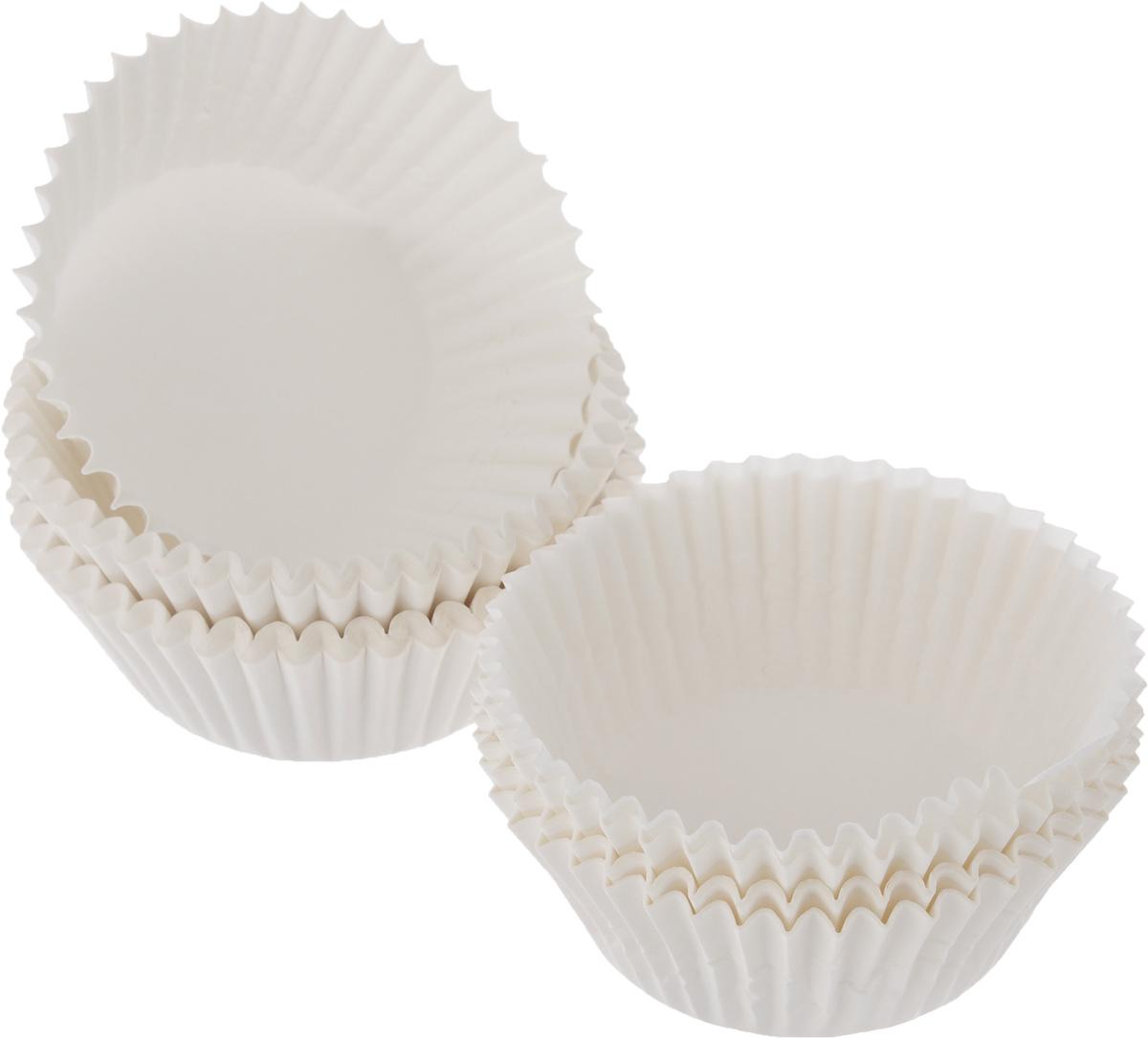 Форма для выпечки Tescoma Delicia, бумажная, диаметр 6,5 см, 100 шт54 009312Формы для выпечки Tescoma Delicia, изготовленные из высококачественной бумаги, выдерживают высокую температуру. В комплекте 100 форм, выполненных в виде мини-кексов. Если вы любите побаловать своих домашних вкусным и ароматным угощением по вашему оригинальному рецепту, то формы Tescoma Delicia как раз то, что вам нужно!Диаметр формы (по верхнему краю): 6,5 см.Высота формы: 3 см.