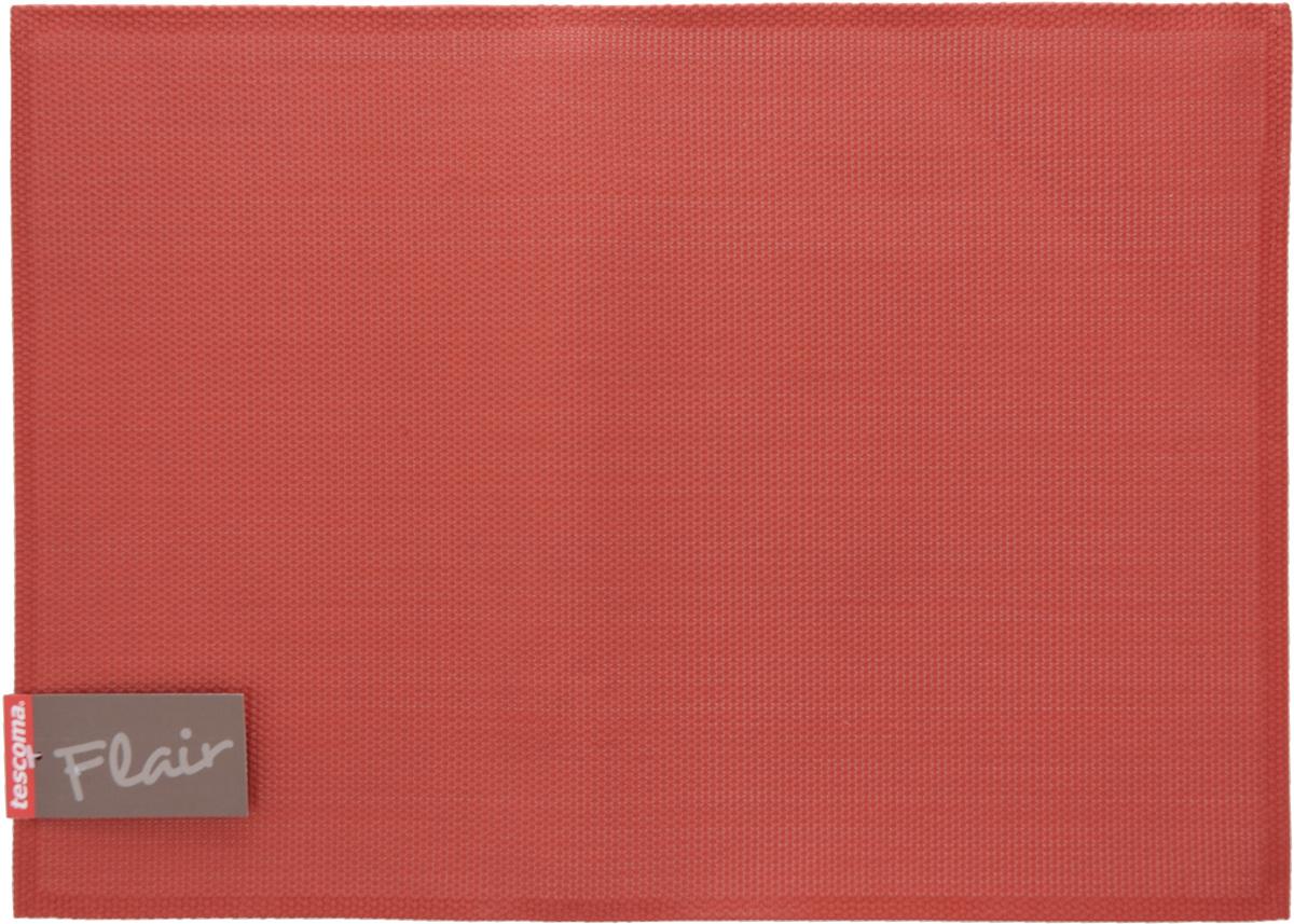 Салфетка сервировочная Tescoma Flair, цвет: гранатовый, 45 х 32 см115510Сервировочная салфетка Tescoma Flair изготовлена из прочной синтетической ткани. Идеально подходит для сервировки стола, также может использоваться как подставка под горячее. Выдерживает максимальную температуру до 80°С. Элегантная сервировочная салфетка изысканно украсит вашу кухню. После использования ее достаточно протереть чистой влажной тканью или промыть под струей воды и высушить. Не мыть в посудомоечной машине.