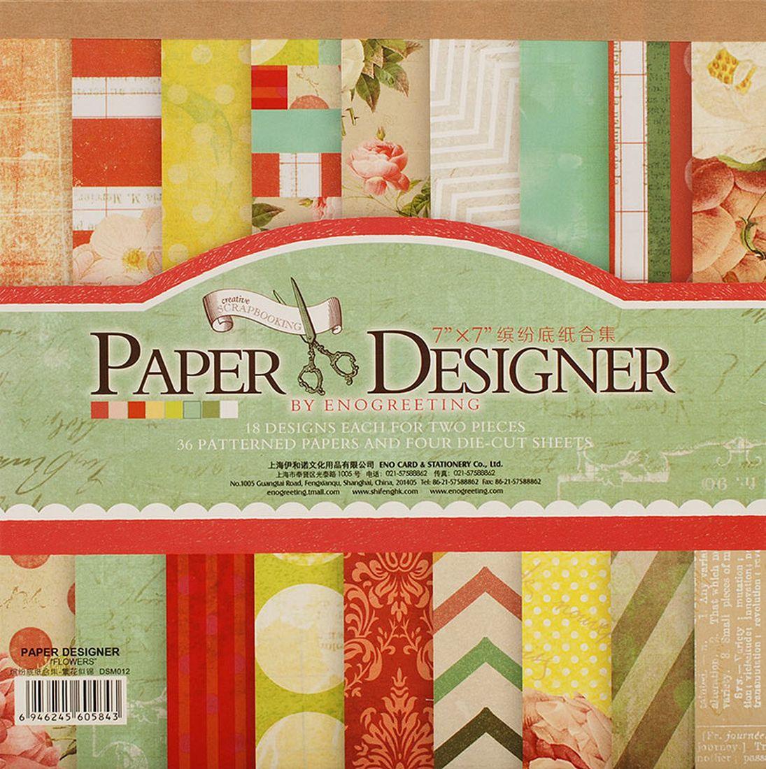 Набор бумаги для скрапбукинга Белоснежка Яркие цветы, 17,5 x 17,5 см, 36 листов010-SBНабор бумаги для скрапбукинга Яркие цветы позволит создать красивый альбом, фоторамку или открытку ручной работы, оформить подарок или аппликацию.Набор включает 36 листов из плотной бумаги: 18 дизайнов по 2 листа каждый и 4 листа с вырубкой.Размер листа: 17,5 х 17,5 см. Листы плотные, толщина - 0,25 мм, матовые, с хорошей четкой печатью, с одной стороны напечатан фоновый рисунок, обратная сторона - тонированная однотонная.Отличительная особенность набора - наличие нескольких листов с фигурной вырубкой различной формы и дизайна.