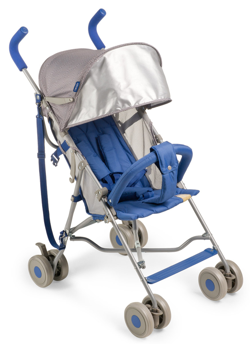 Happy Baby Коляска-трость Twiggy Blue