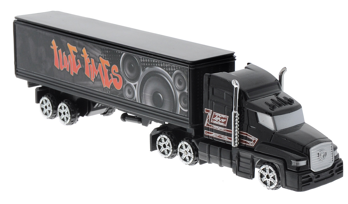 MotorMax Грузовик с полуприцепом Tune Times калодки на полуприцеп нефаз