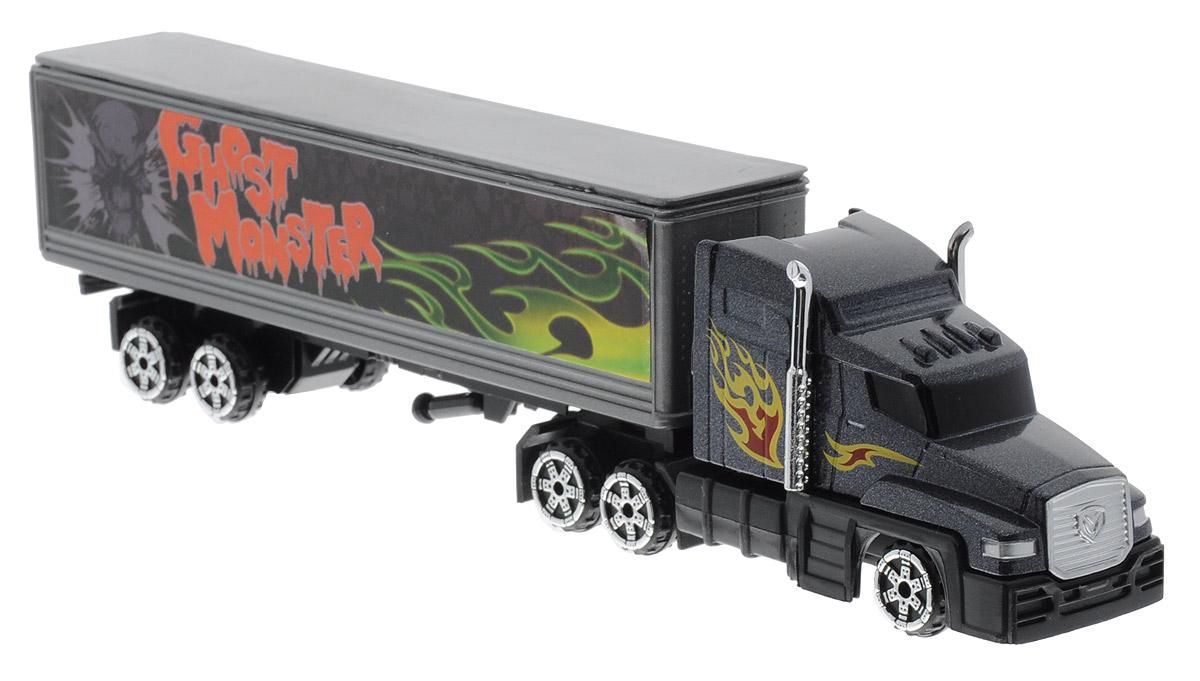 MotorMax Грузовик с полуприцепом Ghost Monster калодки на полуприцеп нефаз