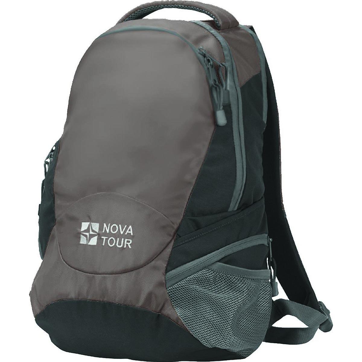 Рюкзак городской Nova Tour Атом 22, цвет: темно-коричневый, 22 л рыболовный жилет fisherman nova tour вестер 95734 530 l