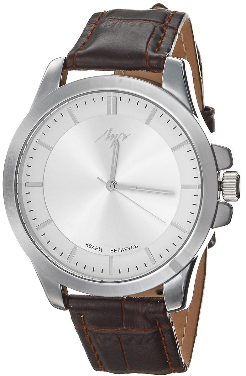 Zakazat.ru: Часы наручные женские Луч Современная, цвет: серебряный, темно-коричневый. 729107282