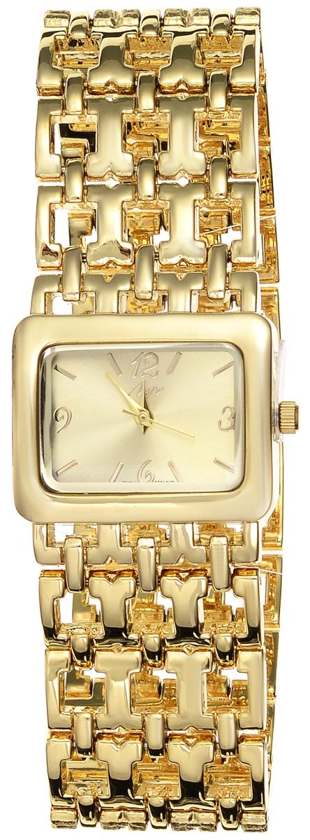 Часы наручные женские Луч Современная, цвет: золотой. 729107270BM8434-58AEЭлегантные женские часы Луч Современная изготовлены из металлического сплава, нержавеющей стали и минерального стекла. Циферблат часов оформлен символикой бренда.Корпус часов имеет степень влагозащиты равную 3 Bar, оснащен кварцевым механизмом Miyota, а также дополнен устойчивым к царапинам минеральным стеклом. Практичный складной замок, дополняющий ажурный браслет, позволит с легкостью снимать и надевать часы.Часы поставляются в фирменной упаковке.Часы Луч Современная подчеркнут изящность женской руки и отменное чувство стиля у их обладательницы.