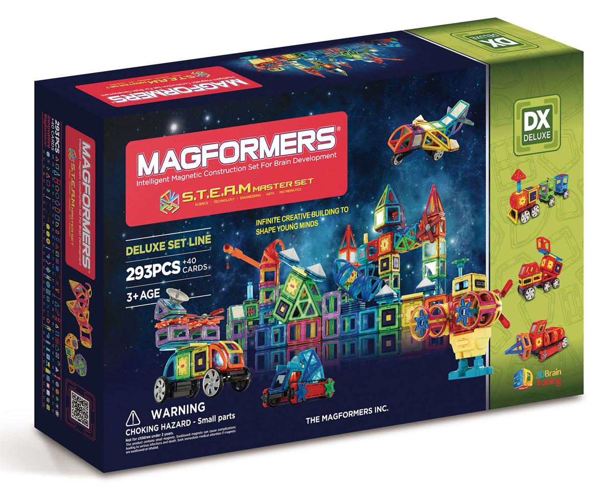 Magformers Магнитный конструктор STEAM Master Set magformers my first magformers 30