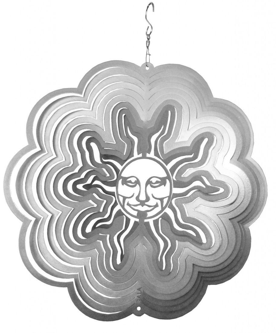 Фигурка садовая Gala Солнце, 29,7 х 30 смKL-01Фигурка Gala Солнце, выполненная из металла, вращается при помощи ветра. Она позволит создать оригинальную декорацию, которая украсит собой ваш сад и добавит в него ярких красок. Прочная и износостойкая фигурка будет радовать вас много лет. Декоративные садовые фигурки представляют собой последний штрих при создании ландшафтного дизайна дачного или приусадебного участка. Они позволяют создать правдоподобную декорацию и почувствовать себя среди живой природы. Кроме этого, веселые и незатейливые, они поднимут настроение вам, вашим друзьям и родным.