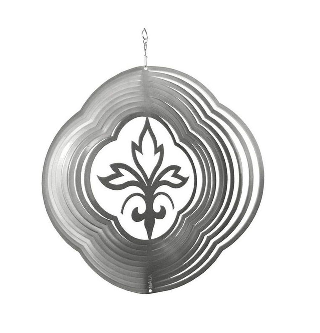Фигурка садовая Gala Цветок 13,0 х 13,4 см41623Украшение для сада наполнит ваш сад волшебным светом. Приводится в движение ветром, либо специальным устройством для вращения.