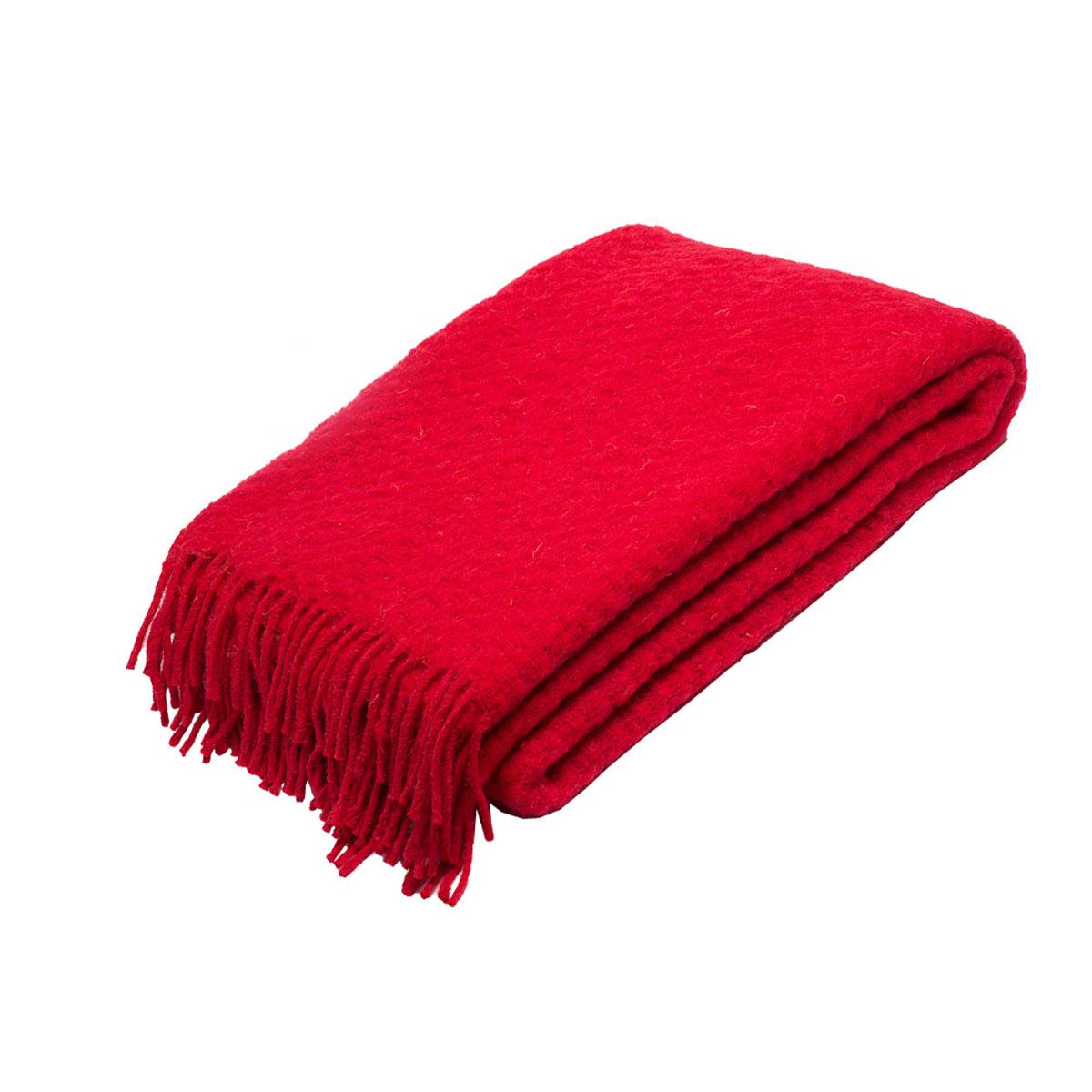 Плед Руно Estivo, цвет: красный, 140 х 200 см. 1-511-140 (67)ПСс-180-200_розовыйПлед Руно Estivo гармонично впишется в интерьер вашего дома и создаст атмосферу уюта и комфорта. Чрезвычайно мягкий и теплый плед с кистями изготовлен из натуральной овечьей шерсти. Высочайшее качество материала гарантирует безопасность не только взрослых, но и самых маленьких членов семьи.Плед - это такой подарок, который будет всегда актуален, особенно для ваших родных и близких, ведь вы дарите им частичку своего тепла!