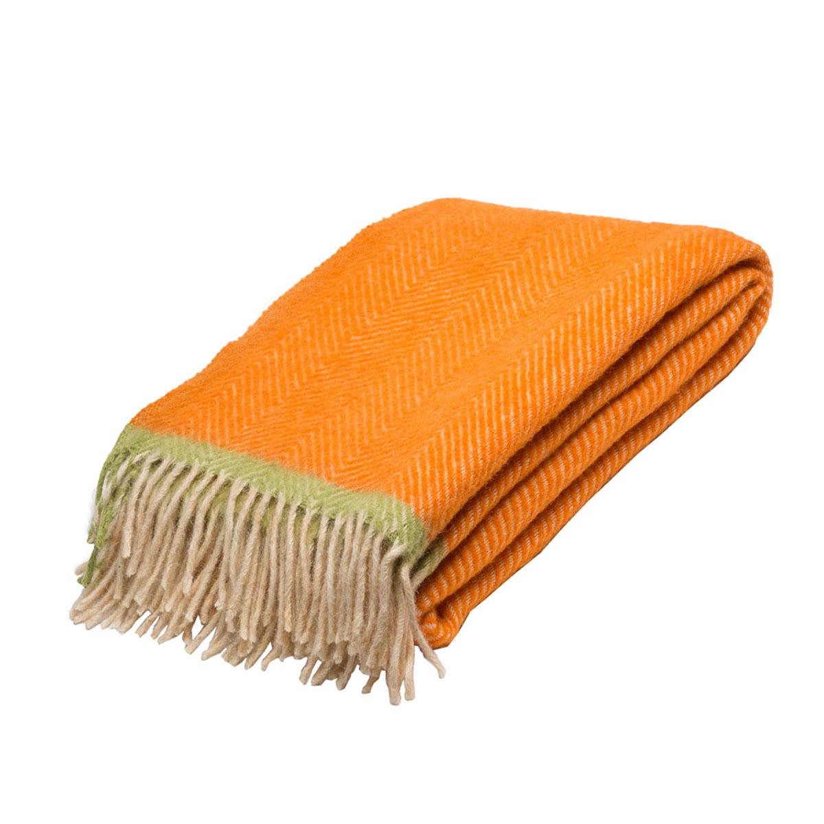 Плед Руно Mone, цвет: оранжевый, светло-бежевый, 140 х 200 см. 1-541-140 (08)68551Плед Руно Mone гармонично впишется в интерьер вашего дома и создаст атмосферу уюта и комфорта. Чрезвычайно мягкий и теплый плед с кистями изготовлен из натуральной овечьей шерсти. Высочайшее качество материала гарантирует безопасность не только взрослых, но и самых маленьких членов семьи.Плед - это такой подарок, который будет всегда актуален, особенно для ваших родных и близких, ведь вы дарите им частичку своего тепла!