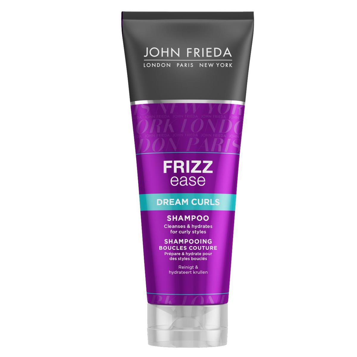 John Frieda Шампунь Frizz-Ease. Dream Curls, для волнистых и вьющихся волос, 250 мл lee stafford шампунь для вьющихся волос here come the curls 250 мл