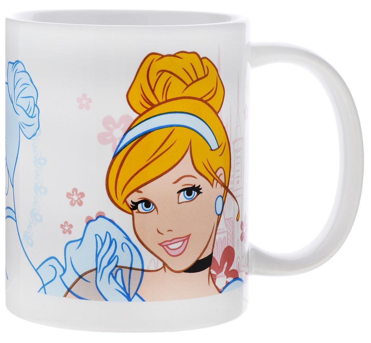 Stor Кружка детская Принцесса Золушка 325 мл10255049_бирюзовыйДетская кружка Stor Принцесса Золушка из серии Stor Disney Princess с любимой героиней станет отличным подарком для вашей малышки. Она выполнена из керамики и оформлена изображением диснеевской принцессы Золушки. Кружка дополнена удобной ручкой. Такой подарок станет не только приятным, но и практичным сувениром: кружка будет незаменимым атрибутом чаепития, а оригинальное оформление кружки добавит ярких эмоций и хорошего настроения.Можно использовать в СВЧ-печи и посудомоечной машине.