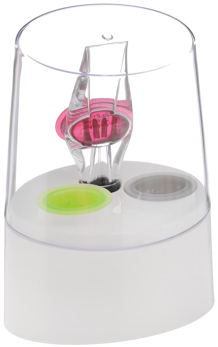 Аэратор для вина Tescoma Rosso, на подставке503700Аэратор Tescoma Rosso, изготовленный из прочного пластика, быстро и эффективно осуществляет аэрацию белого и красного вина во время разливания в бокалы. Вино мгновенно приобретает полный развернутый вкус и аромат. Зеленый клапан предназначен для белых вин, красный клапан - для красных вин, а серый клапан служит воронкой. Мыть в посудомоечной машине.Размер подставки: 12,5 х 8,3 х 16,5 см.Длина аэратора: 15 см.Размер клапанов: 4,5 х 3 х 2 см.