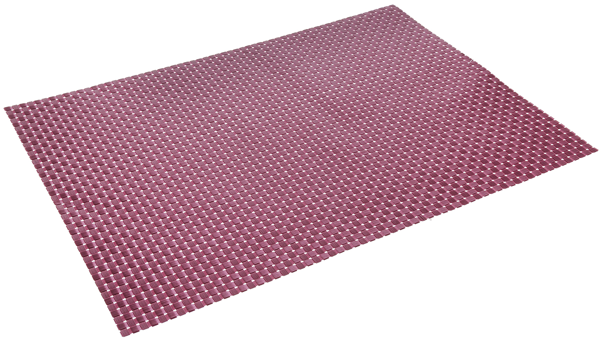 Салфетка сервировочная Tescoma Flair. Shine, цвет: лиловый, 45 x 32 см1004900000360Элегантная салфетка Tescoma Flair. Shine, изготовленная из прочного искусственного текстиля, предназначена для сервировки стола. Она служит защитой от царапин и различных следов, а также используется в качестве подставки под горячее. После использования изделие достаточно протереть чистой влажной тканью или промыть под струей воды и высушить. Не мыть в посудомоечной машине, не сушить на батарее.Размер салфетки: 45 х 32 см.
