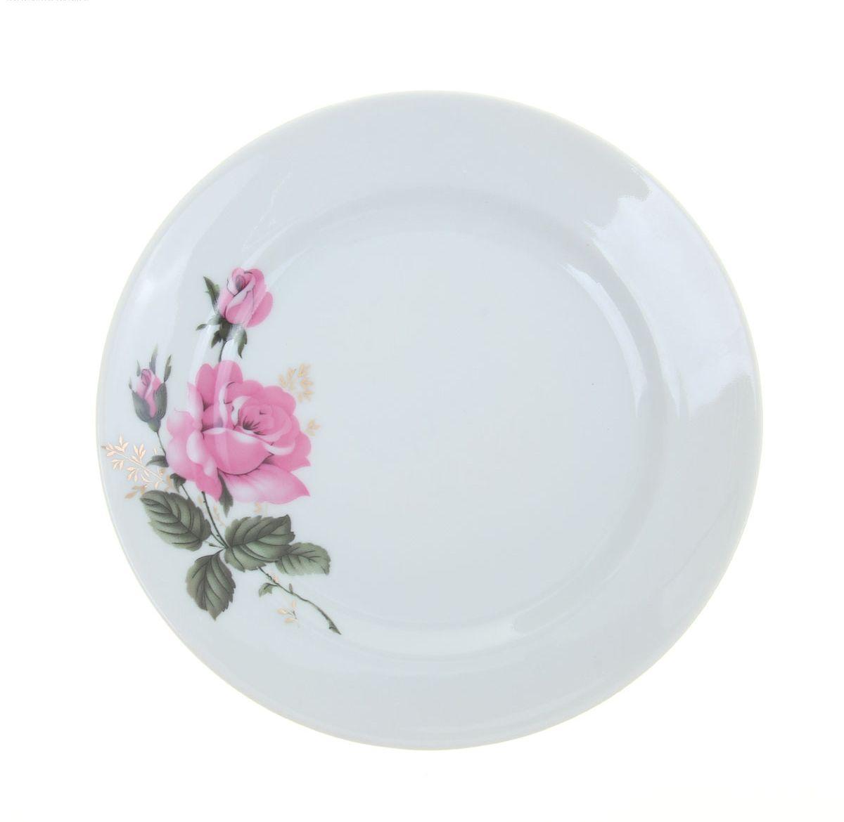 Тарелка мелкая Идиллия. Глория, диаметр 17 см1035455/4С0336