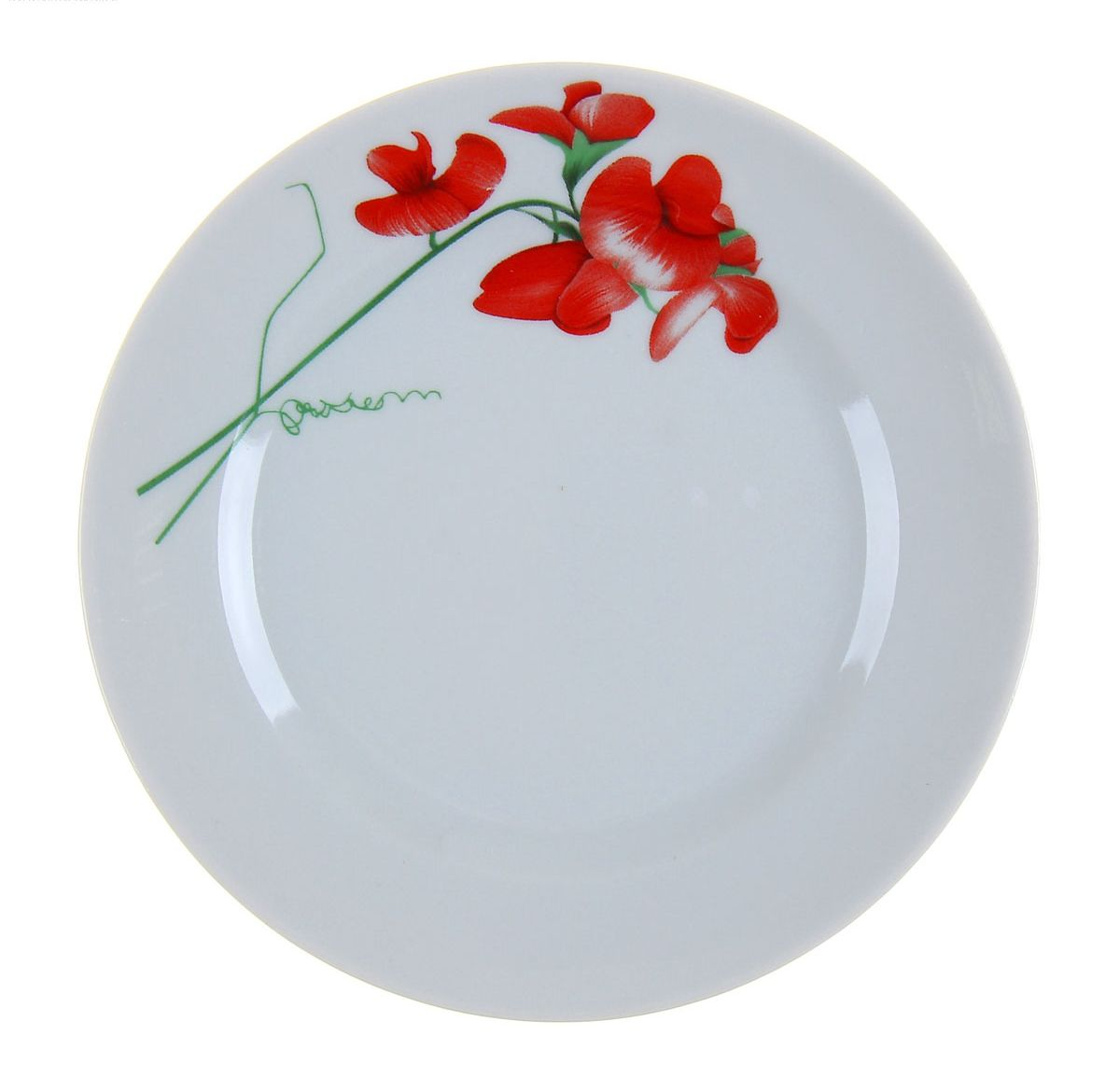 Тарелка мелкая Идиллия. Рубин, диаметр 17 см. 11094981109498