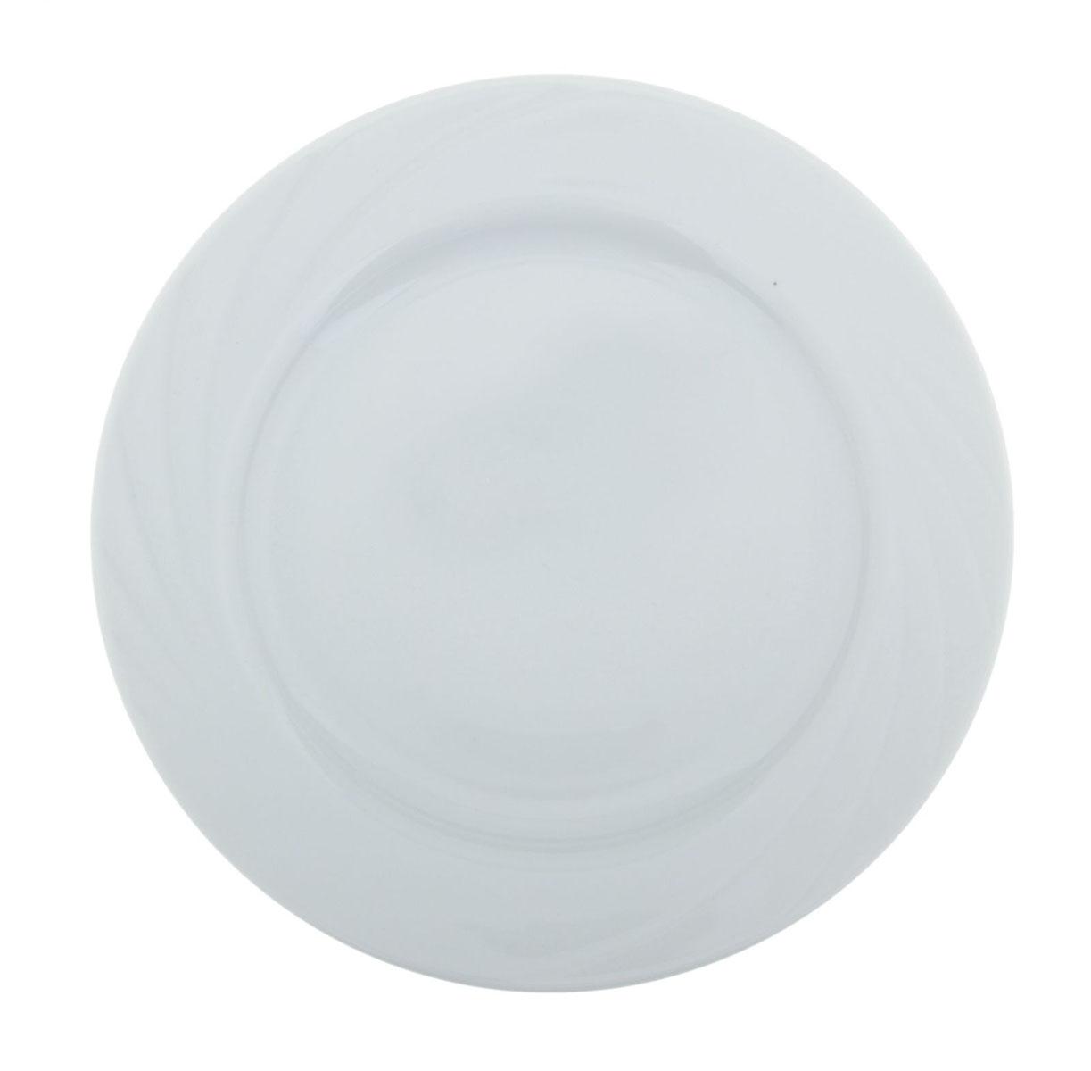 Тарелка мелкая Голубка. Белье, диаметр 20 см селедочница голубка ассорти длина 25 см