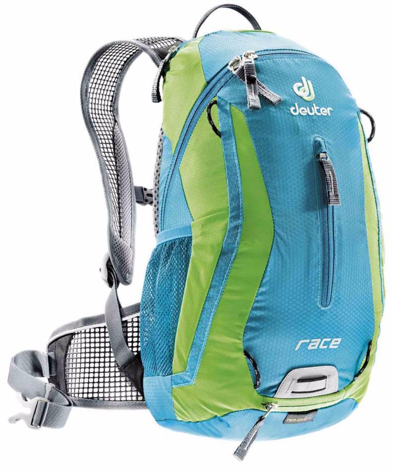 Рюкзак Deuter  Race , цвет: голубой, салатовый, 10 л - Рюкзаки