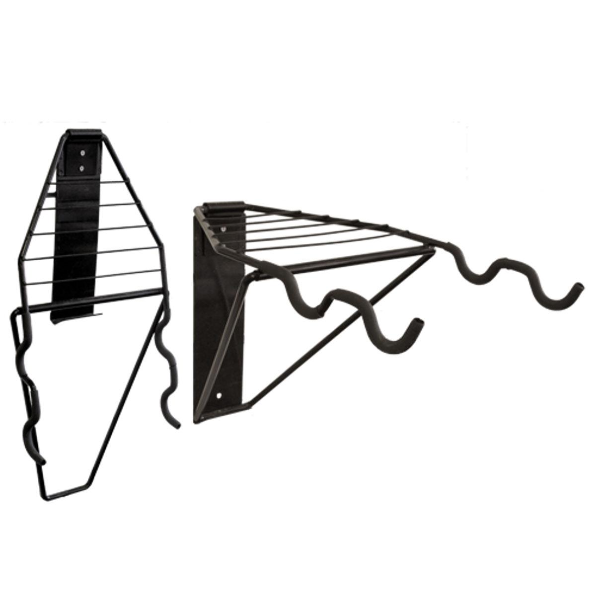 Подвесная система для 2-х велосипедов МастерПроф, горизонтальное хранениеBTL-19Отличная система для горизонтального хранения 2-х велосипедов с решёткой для хранения шлемов, перчаток, обуви и пр.Система складывается, когда не используется.