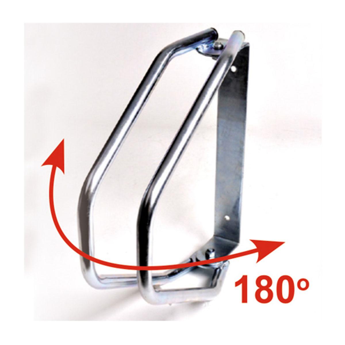 Велопарковка настенная МастерПроф, регулируемаяZ90 blackРегулируемая настенная велопарковка. Удобна для использования в гараже и на улице. Система может быть развернута на 180 градусов. Подходит для шин шириной до 50 мм. Простая установка с помощью двух винтов.