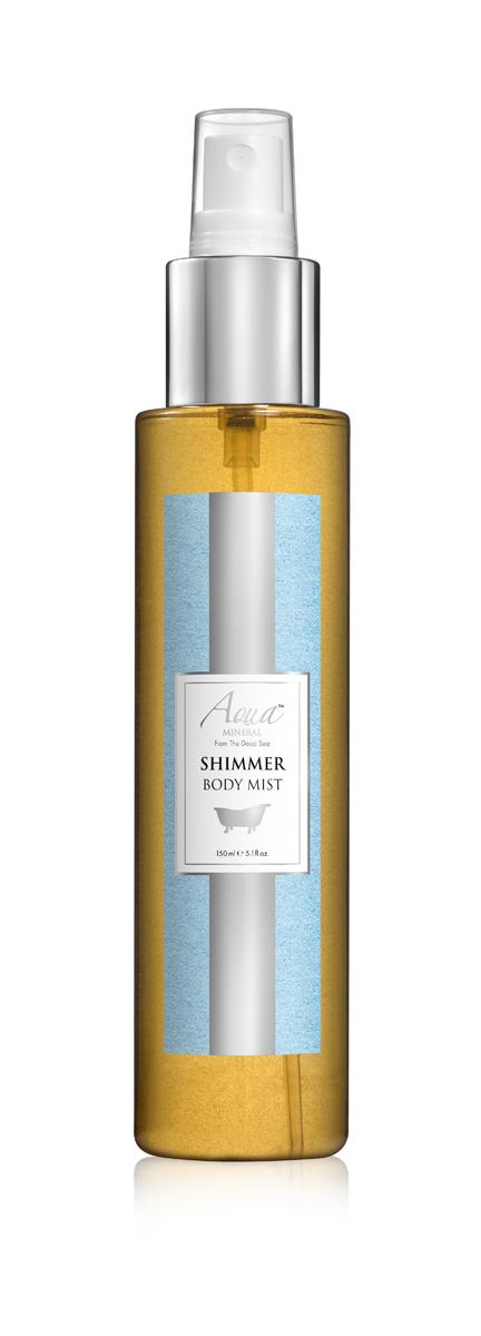 Aqua mineral Спрей для тела мерцающий 150 млFS-54114Мягкое и нежное, это очищающее средство идеально подходит даже для чувствительной кожи. Миндальное, пальмовое и касторовое масла в его составе дарят коже необходимое увлажнение,