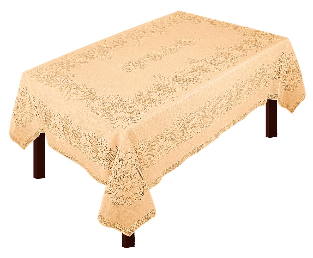 Скатерть Zlata Korunka, прямоугольная, цвет: золотистый, 235 х 165 смVT-1520(SR)Скатерть выполнена из полиэстеровых волокон, длина235*шир.165
